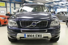 Volvo XC90 D5 EXECUTIVE AWD [1 OWNER /NAV /LEATHER /7 SEATS] (caspian blue metallic) 2014