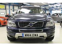 Volvo XC90 D5 EXECUTIVE AWD [1 OWNER /NAV /LEATHER /7 SEATS] (caspian blue metallic) 2014
