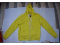 New and soft, Long Sleeve, Yellow, Fracture Skater Hoodie