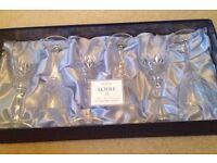 M&S wine glasses / champagne flutes