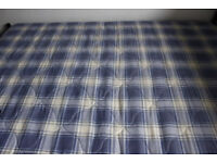 Double bed (double frame + sprung mattress)
