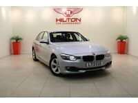 BMW 3 Series 2.0 320d EfficientDynamics 4dr (start/stop) (silver) 2013