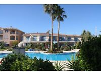 Cyprus, Paradise gardens 2 bedroom maisonette with garden and pool view