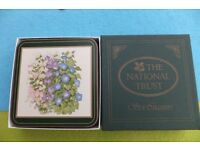 The National Trust 'Cottage Garden' coasters