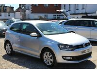 2013 Volkswagen Polo 1.4 Match Edition DSG 7 speed Automatic 3dr 37000 miles.