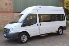 **2008 FORD TRANSIT T350L HIGH TOP WHEELCHAIR ACCESS DISABLED MINIBUS CAMPER**