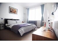 LIGHT AND AIRY DOUBLE ROOM CENTRAL BRIGHTON IN FULLY SERVICED APPARTMENT