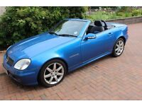 MERCEDES SLK 230 KOMPRESSOR 2002. MOT JUNE 2017