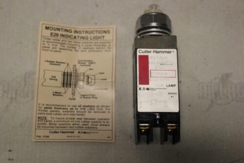 CUTLER HAMMER E29NH1 Oiltight Indicating Light 24/28V AC/DC