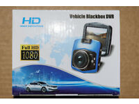 "BNIB 1080p Full HD Dash Cam In-Car Camera ""Blackbox"" with loop recording Just £20"