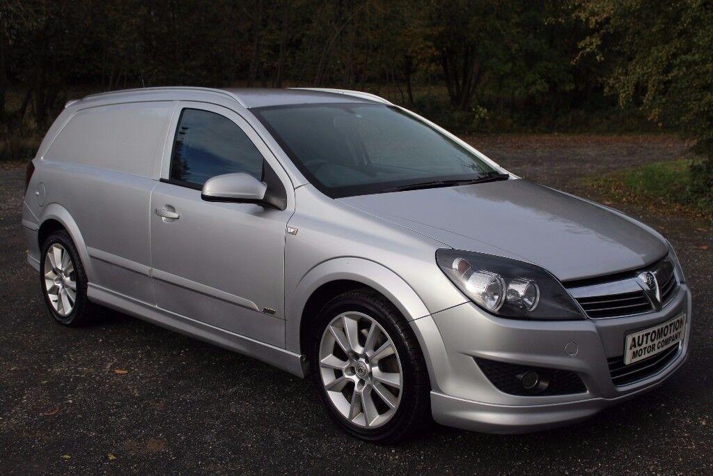 Vauxhall Astra 1.9 Cdti Sportive Van Silver 112,000 Full Dealer History 150 Bhp Bodykit £3995