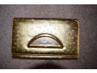 Christian Dior Gold Purse - 100% real