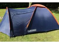 Eurohike 265ts 2/3 Man Tent - New Condition - Never Used! Family Camping Hiking Backpacking Festival