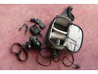 Panasonic Lumix DMC-FZ200 25-600mm (35mm equiv) f2.8 Leica lens. Totally immaculate condition.