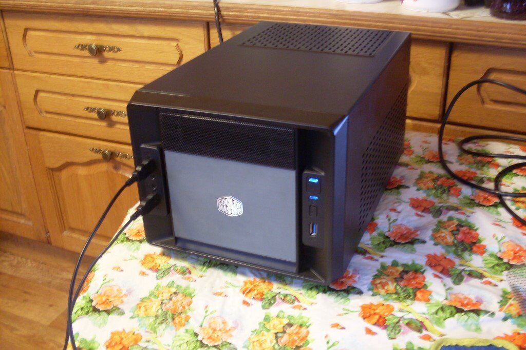 ITX AM4 Quad Core Gaming PC, AMD A12-9800 3 8GHz, 8GB RAM, 120GB SSD,  Windows 10, Wi-Fi | in Hoo, Kent | Gumtree