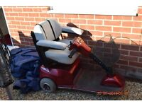 Pride sundancer mobility scooter