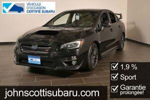 2015 Subaru WRX STI Sport 1.9% Garantie