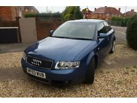 Audi A4 1.8 T Sport 11 months MOT With Sports Seats and 2 Keys