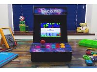 PICADE BARTOP ARCADE FULL PACKAGE WITH PI & PRE-LOADED WITH 1000's OF GAMES