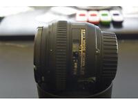 Nikon 50mm f/1.4G lens