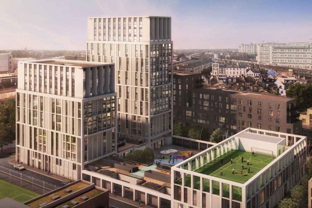 Brand New Luxury 1 And 2 Bed Apartments Available Now In Battersea Exchange Brogan House Sw8