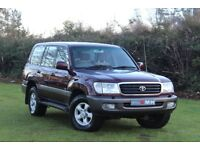 TOYOTA LAND CRUISER AMAZON 4.2 TD GX 5dr Auto (red) 2000
