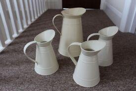 Flower jugs used for wedding
