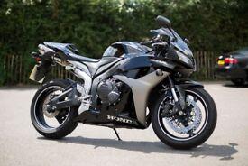 2008 Honda CBR600RR Motorcycle (RR-7), 8,400 miles, Black, North Oxford