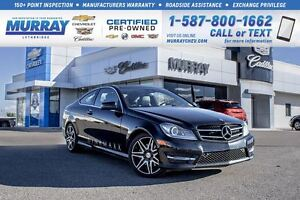 2015 Mercedes-Benz C-Class C350 4 MATIC **Leather! Fully Loaded!