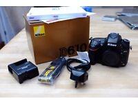 Nikon D610 Full Frame DSLR Body