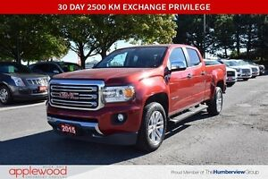 2015 GMC Canyon 4X4, NAVIGATION, LEATHER, ONE OWNER