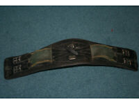 Horse: Leather Devecoux top quality girth for eventing 60cm fits a 15hh to about 16.2hh