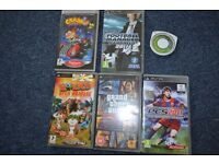 psp game bundle - 6 games.