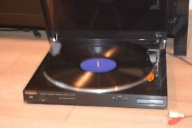 TECHNICS RECORD PLAYER AUTO/JAPAN/CAN BE SEEN WORKING