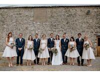Pale pink bridesmaid dresses sizes 6, 10, 2 x 12