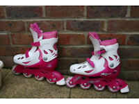 Excellent Condition Pink XRT Raider III Inline Skate in Springfield Chelmsford