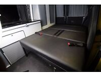 "3/4 CAMPER-VAN R""N""R, Rock And Roll Bed Black, Grey Most Vans, VW T4, T5, Vivaro, DELIVERY AVAILABLE"