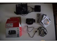 Canon Legria HF R47 Video Camcorder HD 1080p Camcorder with wireless and touchscreen. Immaculate.