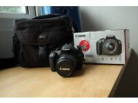Canon 1200D + 18-55 lens + accessories, immaculate condition