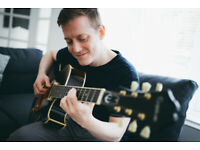 Guitar Lessons Online or in St Albans, UK - from £30/h