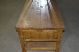 Brand new solid wood rustic cofee table........