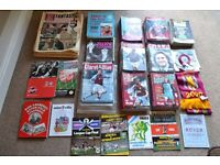ASTON VILLA PROGRAMMES / NEWSPAPERS / MAGAZINES / MEMORABILIA OVER 270 ITEMS IN VERY GOOD CONDITION