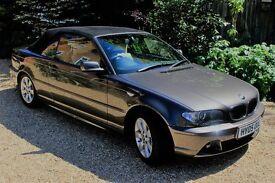 **BARGAIN** STUNNING Convertible BMW 3 Series 318Ci SE 2dr – Long MOT: No Advisories