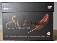 The Shakespeare Collection BBC DVD
