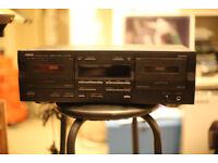 Yamaha KX-W321 double cassette player