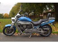 Hyosung GV650 Cruiser, blue, low mileage,great condition,eye-catcher! Manchester