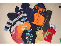 Bundle of clothes for boys - size 98 cm (3 years)