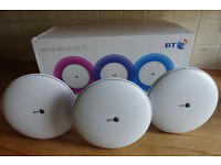 BT Whole Home WiFi Booster System x 3 | Brand New, Unwanted Fathers Day Present