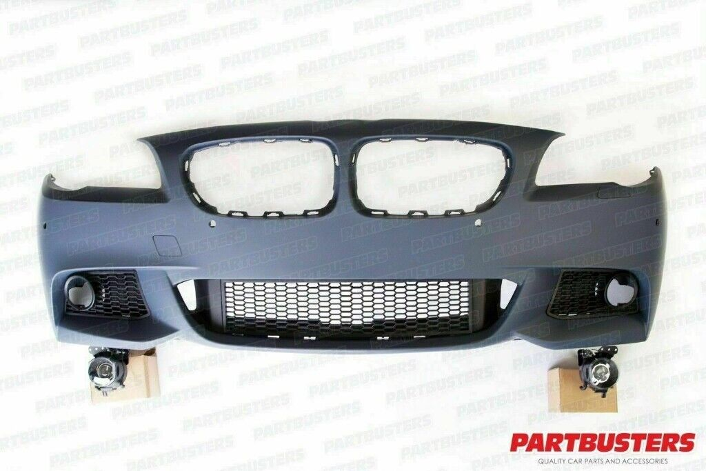 BMW 5 SERIES M SPORT F10 F11 FRONT BUMPER COMPLETE 2010-2013 | in Ilford,  London | Gumtree