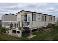 Luxury Static Caravan Whitstable Kent 2 bed 6 birth Abi St David 2011model On Alberta Holiday Park